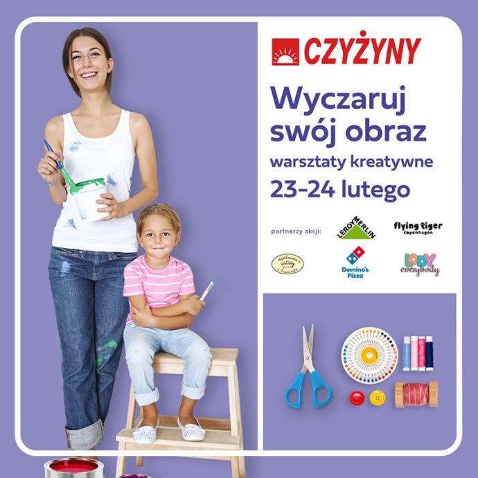 Wez Udzial W Warsztatach Z Leroy Merlin I Stworz Wlasny Obraz Centrum Nowe Czyzyny Krakow