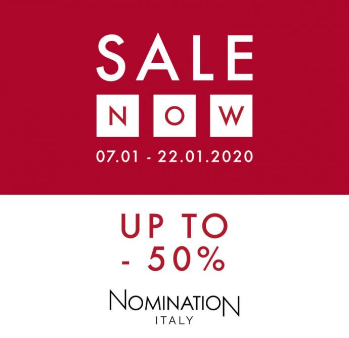 Nomination do -50%!