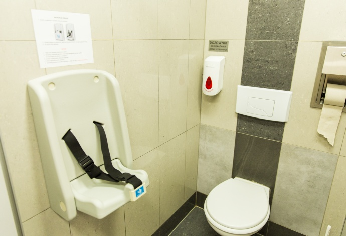 Child sets in toilets