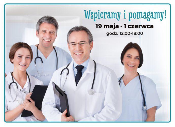 Zbiórka na rzecz krakowskich szpitali