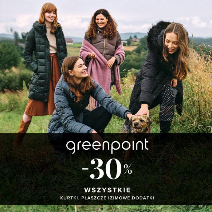 -30% w Greenpoint!