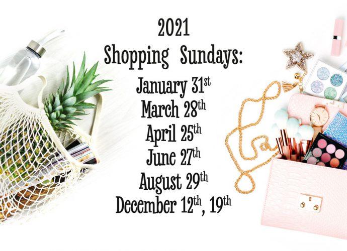 Shopping Sundays