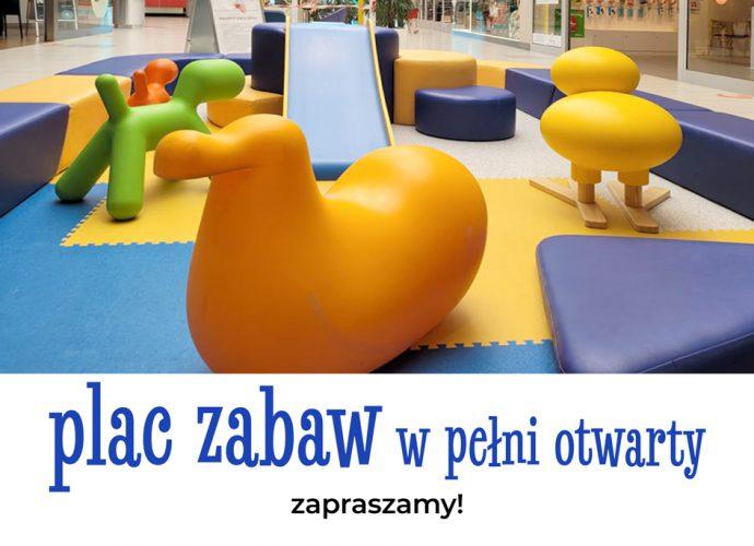 Plac zabaw w pełni otwarty !
