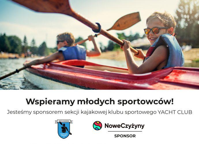 Nowe Czyżyny sponsorem Yacht Clubu Kraków