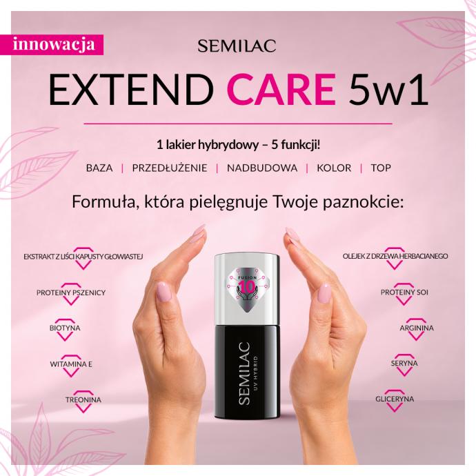 Nowość! Semilac Extend CARE 5w1