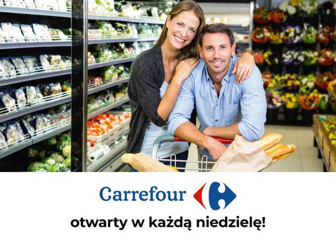 Carrefour otwarty w niedziele